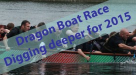 Getting ready for the Dragon Boat Challenge 2015