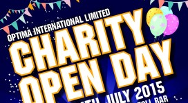 Charity Open Day at Optima International